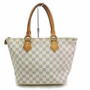 Auth Louis Vuitton Saleya Pm Damier Azur #1511L38
